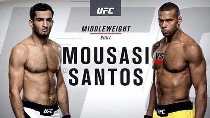Гегард Мусаси vs. Тиаго Сантос