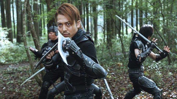 Чужие против Ниндзя (2010) ужасы, фантастика, боевик, комедия