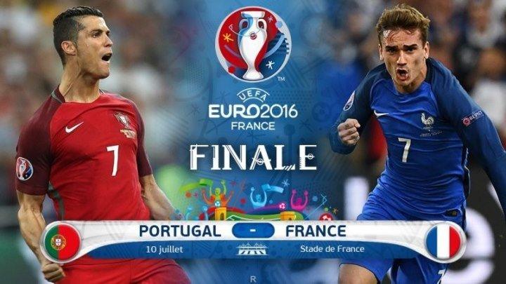 ЕВРО 2016. ФИНАЛ. Франция-Португалия
