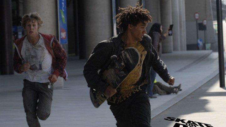 На скейте от смерти.Боевик.