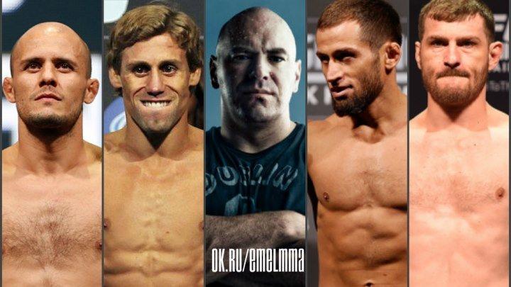 ★◈ℋტℬტℂTℕ ℳℳᗩ◈ Зарплата Даны Вайт в UFC, двое бойцов UFC остались без соперников ★