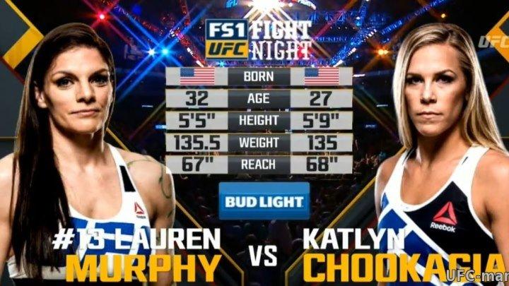 Lauren Murphy vs. Katlyn Chookagian