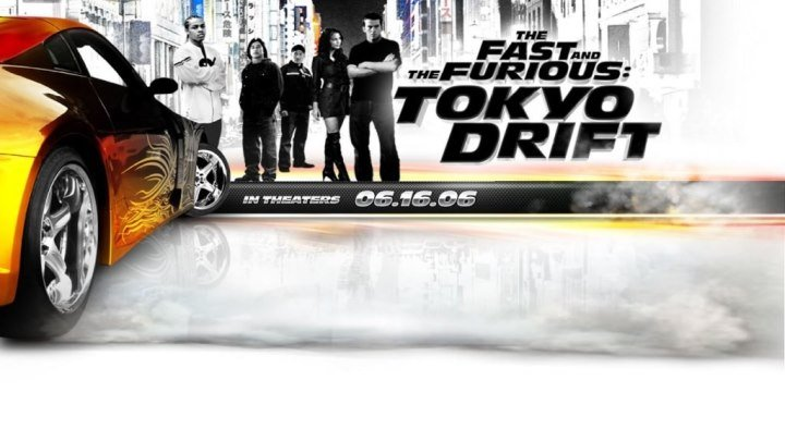 2006 - The Fast and The Furious Tokyo Drift 1080p боевик, триллер, драма, криминал