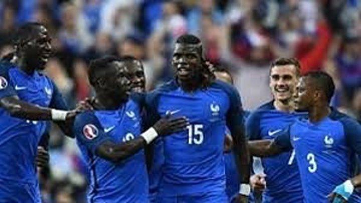 France vs Iceland 5-2 (euro 2016)
