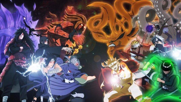 AnimeRap - Реп про 4 Мировую Войну Шиноби - Fourth Shinobi World War Rap 2015