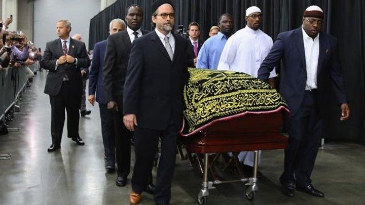 Похороны Мухаммеда Али