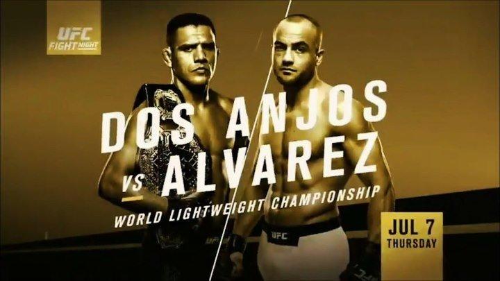 UFC Fight Night 90: Preliminary Card (07.07.2016) dos Anjos vs. Alvarez