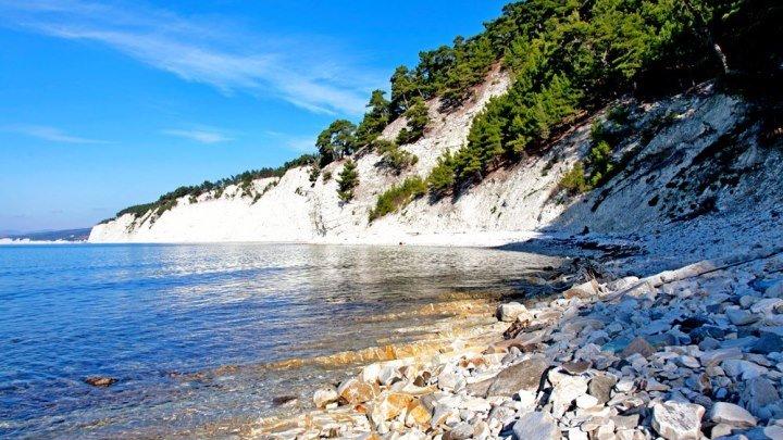 Часть прибрежной полосы Новороссийска. Черноморское побережье Кавказа. КРАСИВО !