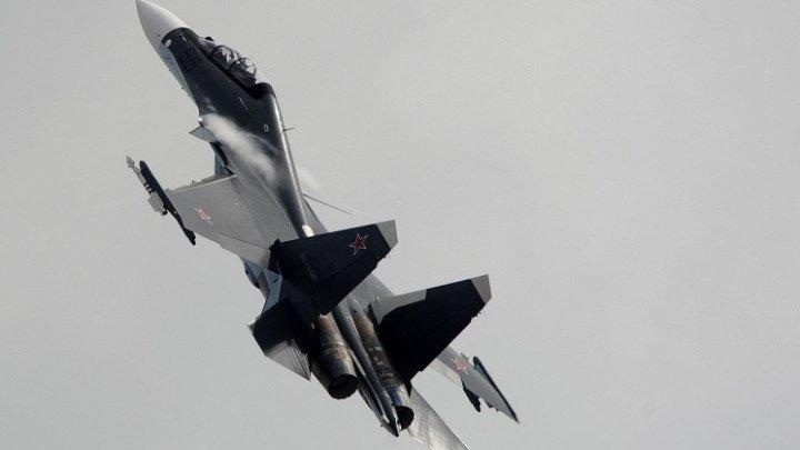 Фигуры высшего пилотажа Су-30СМ (4К)