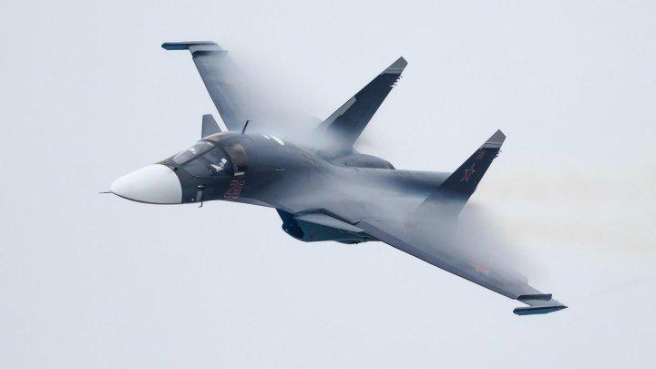 Су-34 МАКС 2015 (4К)