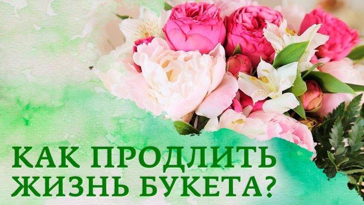 Как дольше сохранить цветы? [Настоящая Женщина]