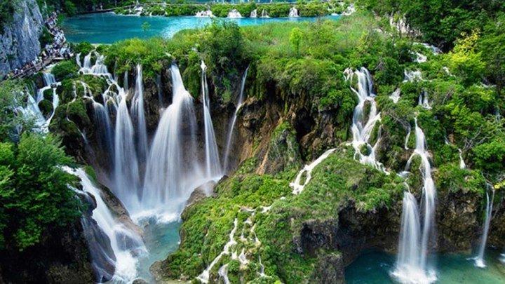 Хорватия, Плитвицкие озера. Красота природы и умиротворение