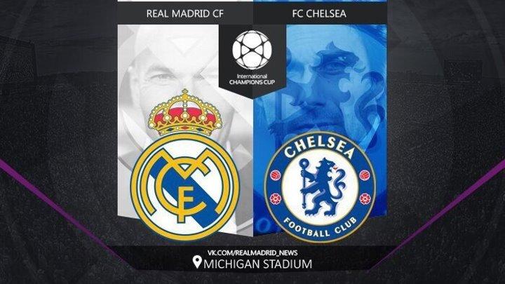Реал Мадрид 3-2 Челси Международный кубок чемпионов 2016 Обзор матча