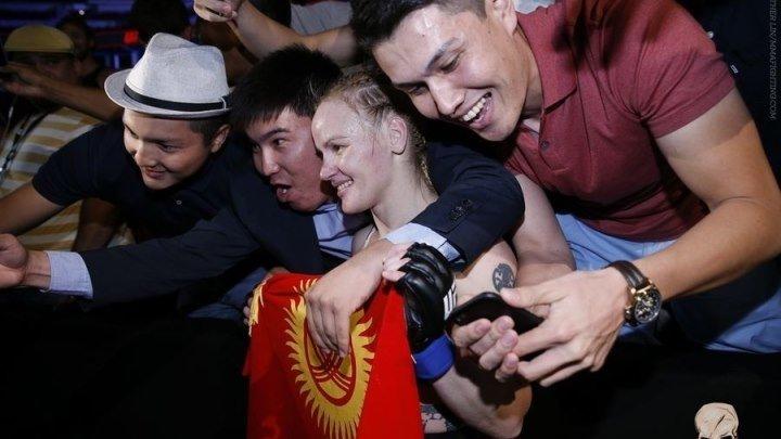 Валентина Шевченко после победы над Холли Холм