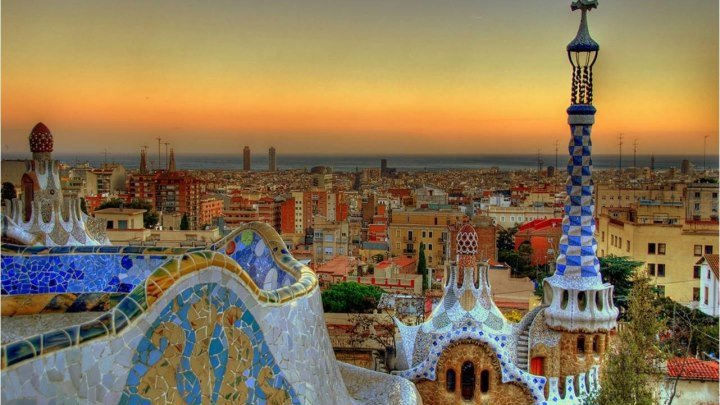 Барселона - город мечта! Испания!