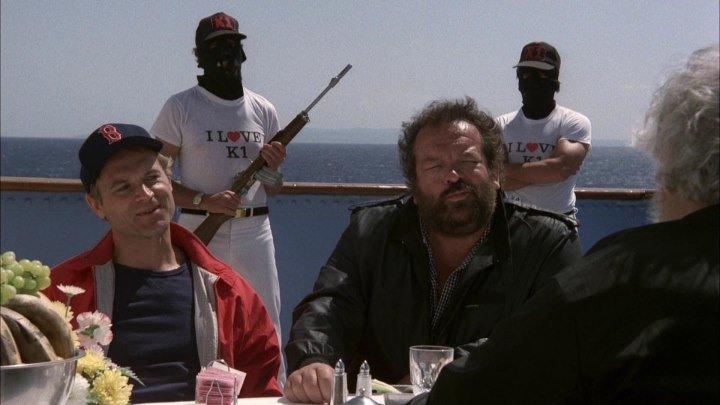 Всегда готовы / Go for it (Италия, США 1983 HD) комедия, приключения, боевик
