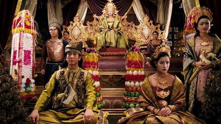 """Три королевы Сиама""Приключения, Фэнтези."