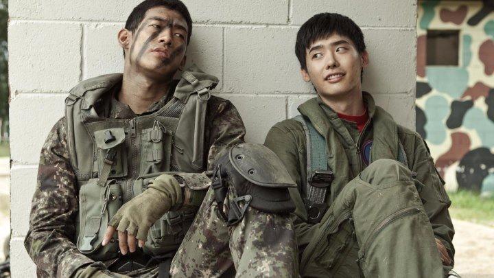 Возвращение на базу (2012) Прекрасный фантастический боевик с Рейном, Ли Чон Сок и Син Сэ Гён