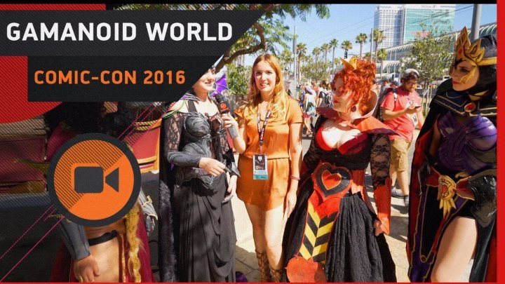 GAMANOID WORLD: COMIC-CON. STAR TREK, ХОДЯЧИЕ МЕРТВЕЦЫ И ПОСЛАНИЕ ПУТИНУ