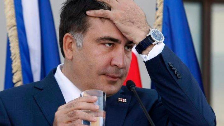 телеканал НТВ: Новые русские сенсации - Саакашвили без галстука (21.05.2016)