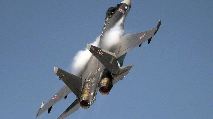 Су-35 - Самолёты так не могут летать, это рашен НЛО,- сказал какой-то американский пилот.