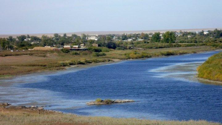 Река Ишим !/ с.Ишимское Жаксынский район .