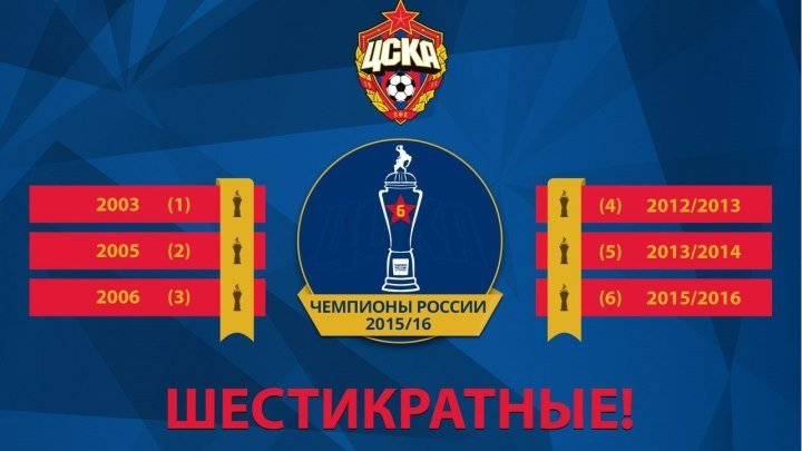 ПФК ЦСКА Москва - 2015-2016 - PFC CSKA Moscow - Season Review
