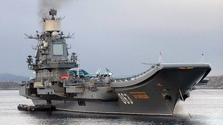 ЧЕМ ВООРУЖЁН Адмирал Кузнецов?(коротко)