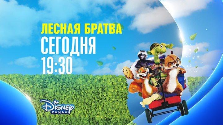 """""""Лесная братва"""" на Канале Disney!"""