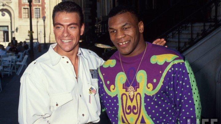 Van Damme & Mike Tyson KICKBOXER Clip