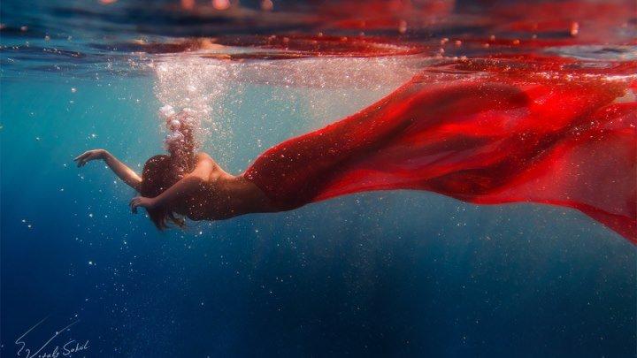 Подводный показ мод! Нечто потрясающееUnderwater fashion show Harmagedon
