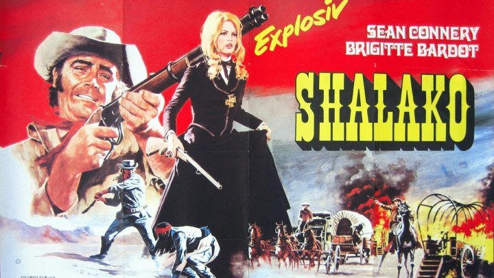 Шалако /Shalako (Великобритания 1968 HD) Вестерн 🔫Бриджитт Бардо🔫Шон Коннери🔫