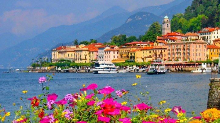 Озеро Комо (Италия) с высоты птичьего полета! Самое красивое озеро в мире - самые богатые виллы! Lake Como seen by Yann Arthus-Bertrand