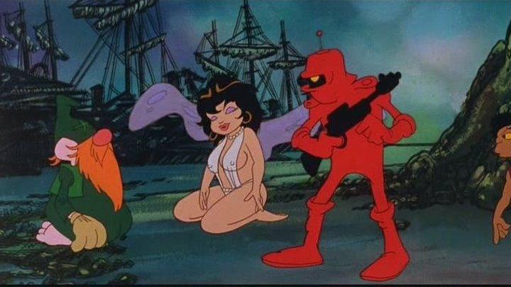 Волшебники / Wizards (1977 HD) 16+ Мульт👍, Боевик, Фантастика, Для взрослых