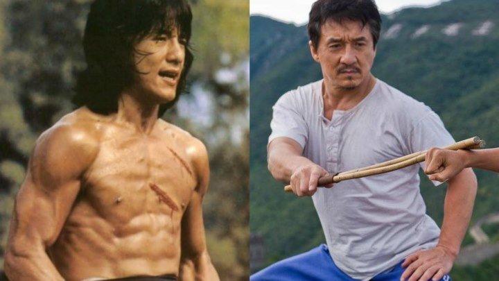 Джеки Чан - от 8 до 62 лет