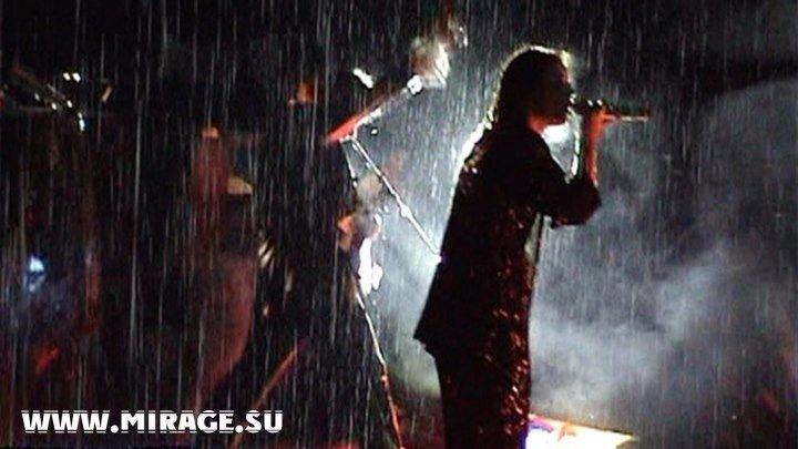 Мегамикс - Екатерина Болдышева & Алексей Горбашов (Мираж 90-х) живой концерт под дождем