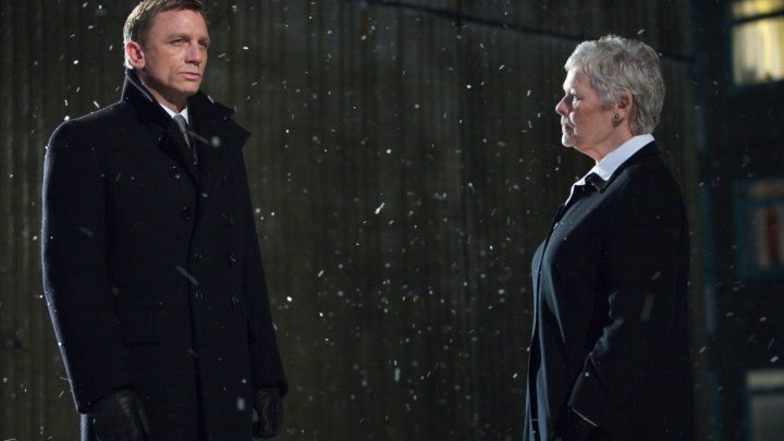 """Фильм """" Джеймс Бонд. Агент 007: Квант милосердия """" ."""