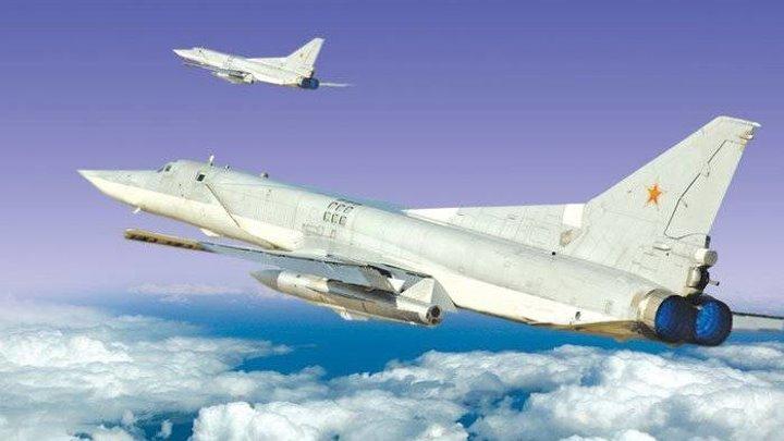 Удар бомбардировщиков Ту-22м3 по вновь выявленным объектам ИГИЛ в р-нах вост. ПАЛЬМИРЫ