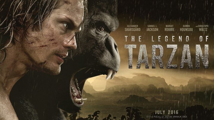 Tarzan afsonasi (Tarjima, O'zbek tilida) HD
