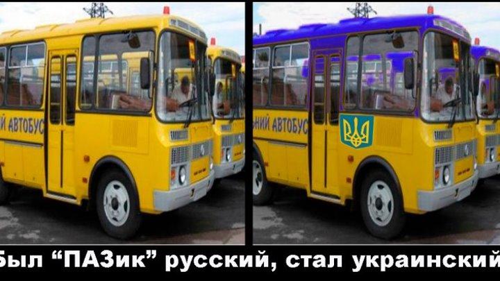 """Был """"ПАЗик"""" русский, стал украинский! Пришлось купить автобусы у """"агрессора""""."""
