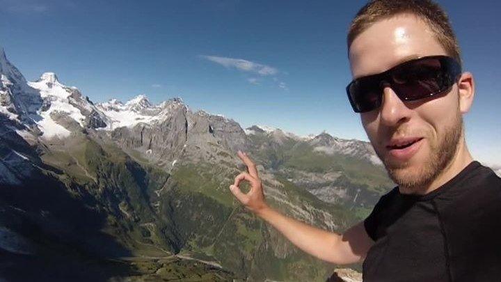 Прыжок смерти: в горах Швейцарии погиб известный экстремал Ули Эмануэле