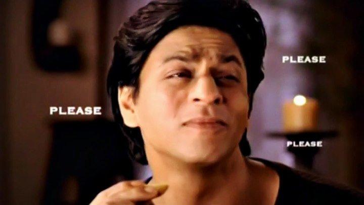 SRK & DIYA MIRZA в рекламе печенья 2005 г