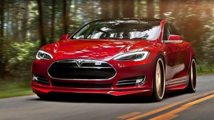 Мегазаводы - Электромобиль Tesla Model S