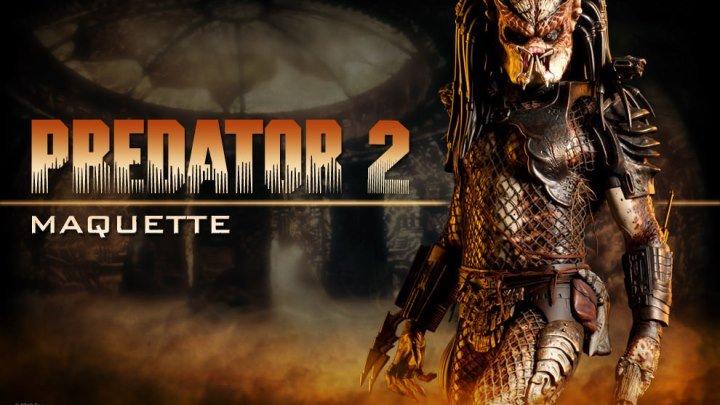 Хищник 2 (1990) боевик, фантастика, ужасы