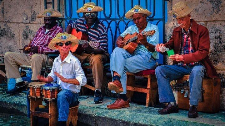 """""""Владимирский централ"""" - поют кубинцы. Куба Апрель 2014."""