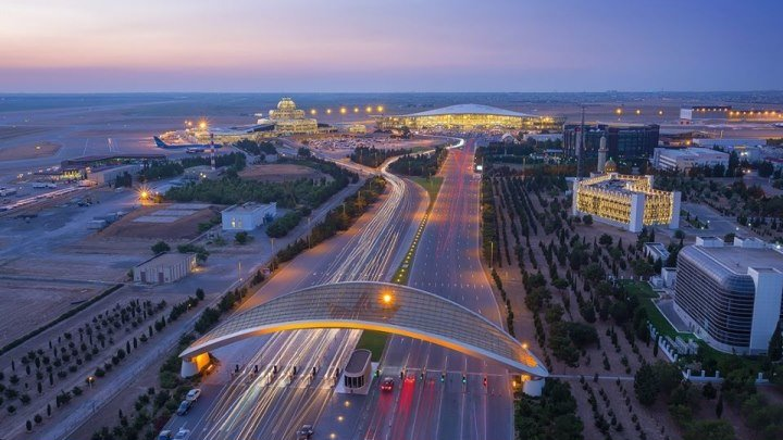 Азербайджан Баку - Поездка в Аэропорт - Поселок Бина...