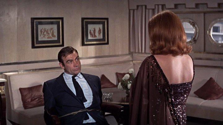 """Джеймс Бонд 007: """"Живёшь только дважды"""" 1967 г. Шон Коннери"""