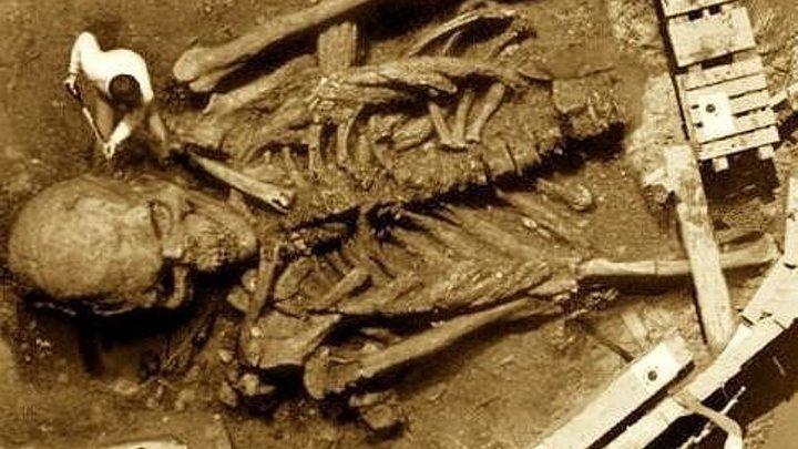 Зачем скрывают могилу ВЕЛИКАНА???Почему эта находка испугала ученых и была засекречена.