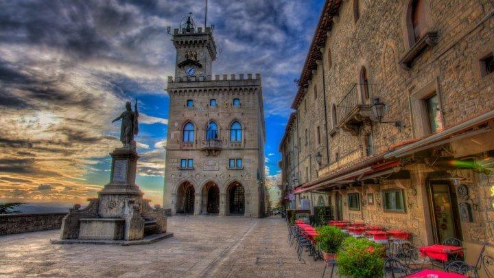 Сан Марино - одно из самых маленьких государств в мире! San Marino - Republic of San Marino