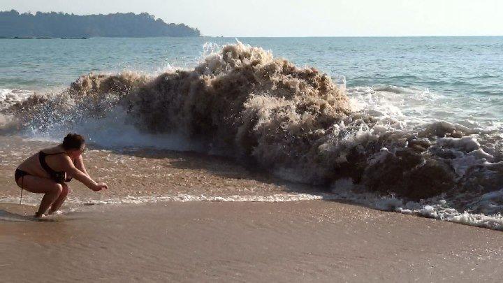 Таиланд. Као Лак. Дорога к морю, море.